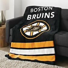 Boston Bruins Microplush Heated Throw/Blanket