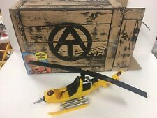 GI Joe ARAH 2010 Collectors Club Exclusive Air Adventure FANG Helicopter 100%