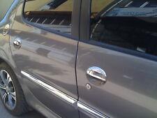 1998up pour Peugeot 206 Chrome poignée de porte Couvrir 2 Porte S. acier