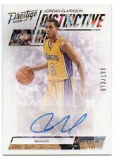 2016-17 Prestige Distinctive Ink Jordan Clarkson Auto 073/199 Los Angeles Lakers