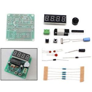 C51 4 Bits Digital Clock Electronic Production Suite DIY Kits Parts New 🇬🇧
