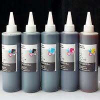 5x250ml Refill ink for Epson T774 T664 WorkForce EcoTank ET 4500 ET 4550