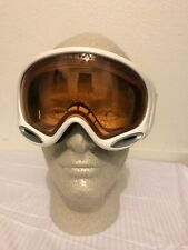 Oakley A Frame 2.0 Polished White W/Persimmon Lens  Ski Snowboard Snow Goggles