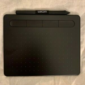 Wacom INTUOS Pen Tablet - SMALL Size - Latest model CTL-4100 -Black - USB - USED