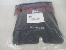 OEM 2010-2012 HYUNDAI SANTA FE BLACK CARPET 4 PIECE FLOOR MATS MAT SET