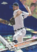 MIKE PELFREY 2017 TOPPS CHROME SAPPHIRE EDITION #680 ONLY 250 MADE