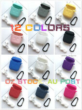 Soft Strap Holder Silicone Case Cover Skin Apple Accessories Airpods Shockproof