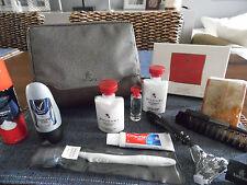 EMIRATES Business Class BVLGARI Amenity Kit Washbag Trousse Neceser Kulturbeutel