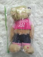 "DISCONTINUED Gemmy Twerking Shake it ""Bang Bang"" Pink Top Girl Bear RARE"