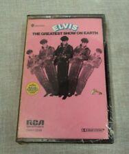 ELVIS PRESLEY Cassette Tape ~ Candlelite THE GREATEST SHOW ON EARTH ~ DMK1-0348