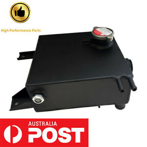 For Ford Falcon AU Alloy Radiator Overflow Header Tank Bottle With Sight Glass