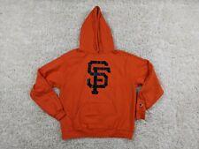 Champion San Francisco Giants Hoodie Men Large Orange Black Eco Baseball