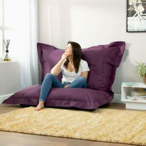 Bean bag Large Washable Furniture Bean Bag cover Purple for luxuries Decor gift