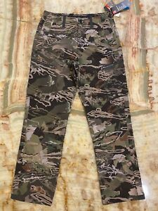 Nwt Mens Under Armour Vent Forest Camo Tactical Heatgear Hunting Cargo 30 X 30
