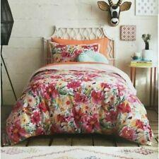New ListingOpalhouse Mercado Floral Duvet Cover Set Reversible 100% Cotton 2pc Twin/Xl