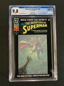 Adventures of Superman #500 CGC 9.8 (1993) - Collector's Ed - 1st app of Steel