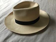 BORSALINO ITALY ECUADORIAN STRAW NEW HAT