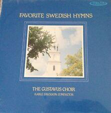 FAVORITE SWEDISH HYMNS-GUSTAVUS CHOIR-KARLE ERICKSON-ORIGINAL LP-OOP-RARE-NEW