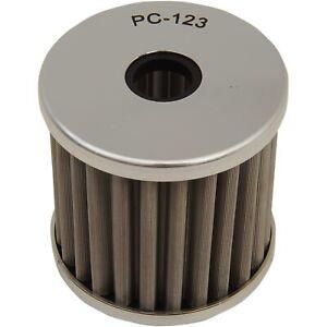PC Racing - PC123 - FLO Drop In Stainless Steel Oil Filter Kawasaki KL 600,KLF 3