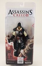 "Assassin's Creed II EZIO Master Assassin Black Cloak 7"" Action Figure NECA 2010"