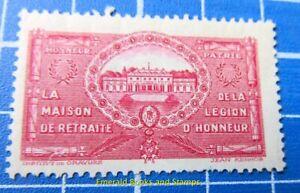 Cinderella/Poster Stamp FRANCE 1900s - Maison de Retraite Légion d'Honneur b492