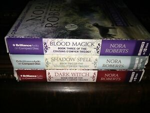 Nora Roberts~ The Cousins O'Dwyer trilogy~ books 1-2-3 unabr. CD audio