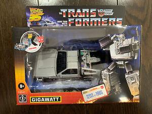 Transformers Collaborative Back to the Future Gigawatt Walmart / 1203 of 1985