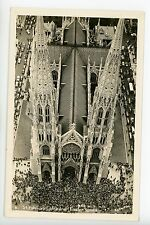 St Patricks Cathedral on Easter Sunday RPPC Vintage 5th Ave Manhattan NYC Photo