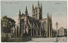 BATH ABBEY N.E. ARMAGH EARLY 1900s USED POSTCARD STAMPED