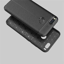für Xiaomi Mi A1 hülle Tasche Handy Leder OPTIK PU Silikon Case In schwarz