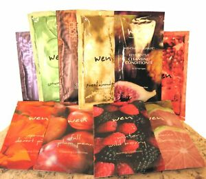 Wen Cleansing Conditioner Shampoo Travel Size Packet 2 oz Your Choice of Scent!