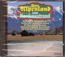 Vom Alpenland zum Nordseestrand CD, Maxl Graf, Maria Hellwig, Steinfeld-Chor NEU