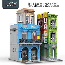 Bauplatten Bauklötze Hotel City Commercial UG10182 Spielzeug Sammlung OVP 4143pc