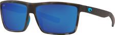 New Costa Del Mar Rinconcito Sunglasses Tiger Shark Ocearch Blue Mirror 580G