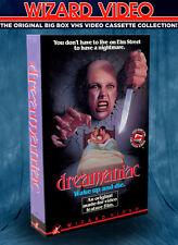 David DeCoteau's DREAMANIAC - VHS BIG BOX - Wizard Video 1986 Cult Grindhouse