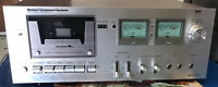 Vintage Modular Component Systems 3551 Stereo Cassette Deck Repair/parts 15x10x6