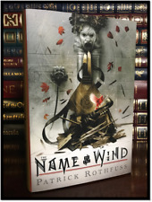 The Illustrated Name of the Wind ✎SIGNED✎ by PATRICK ROTHFUSS New 1st Edition