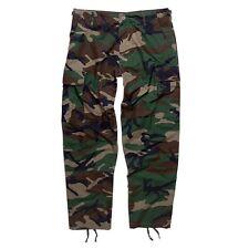 Pantalon BDU rip stop armée militaire airsoft outdoor sécurité - Woodland