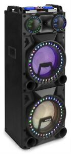 "Fenton VS212 – Enceinte active, 12"",  Bluetooth, 2400 Watts, Port USB/SD"