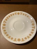 """Vintage Corelli Butterfly Gold Saucer 6 1/4"""" 1970s"""
