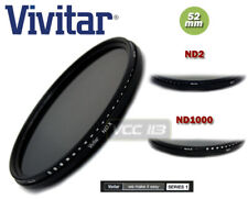 VIVITAR Fader Variable ND Filter (Adjustable ND2 ND4 ND6 to ND400 ND1000 ) 52mm