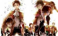 """Attack on Titan - Big Man Fighting Hot Japan Anime 21""""x13"""" Poster A05"""