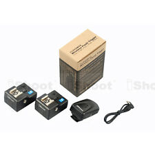 Radio Wireless Remote Control Hot Shoe Trigger PT-04 for Nikon Camera+Flash——2RX