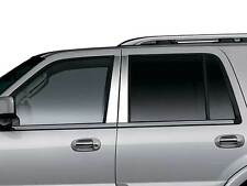 Ford Expedition chrome pillar post trim molding stainless steel 4pc 2003-2014