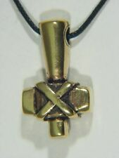BUTW REAL BRONZE Thors hammer Norse Viking thors mjollnir pendant 9734B
