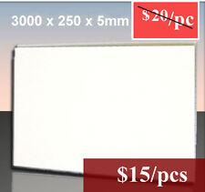 Summer Sale!! Matt White PVC Wall-Ceiling Panel 3000x250x5mm - DIY PANLES!!