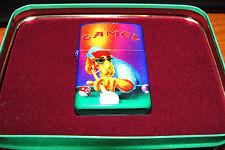 CAMEL JOE POOL PLAYER ZIPPO LIGHTER 1993 TIN RARE made in USA MINT