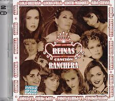 Nadia  Lola Beltran Aida Cuevas Las Reinas De La Cancion Ranchera 2CD New