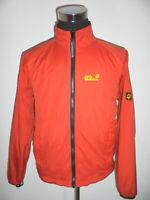 rare vintage Jack Wolfskin Jacke outdoor oldschool jogger orange Herren M