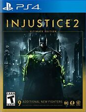 Injustice 2 Ultimate Edition PS4 - Brand New Playstation 4, FREE iPhone 6 screen